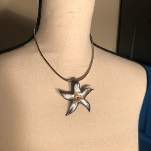 Jewelry - Silver Starfish Necklace